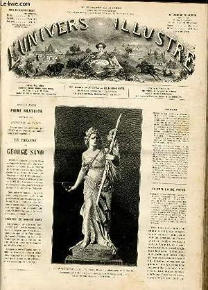 L'UNIVERS ILLUSTRE - DIX-NEUVIEME ANNEE N° 1113 - La résistance, statue de M. Cabet...