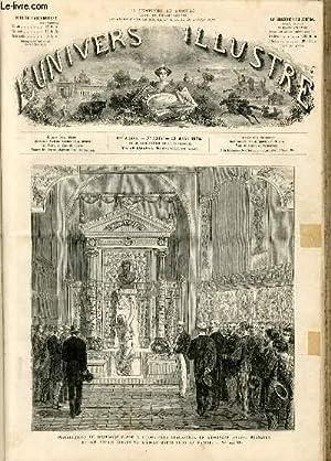 L'UNIVERS ILLUSTRE - DIX-NEUVIEME ANNEE N° 1117 - Inauguration du monuent élev&...