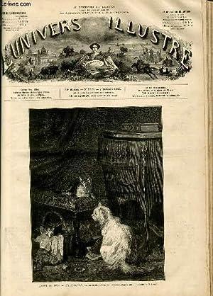 L'UNIVERS ILLUSTRE - DIX-NEUVIEME ANNEE N° 1124 - Salon de 1876 - En famille, tableau de ...