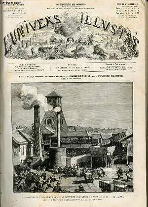 L'UNIVERS ILLUSTRE - TRENTIEME ANNEE N° 1668 La catastrophe de Saint-Etienne: COLLECTIF