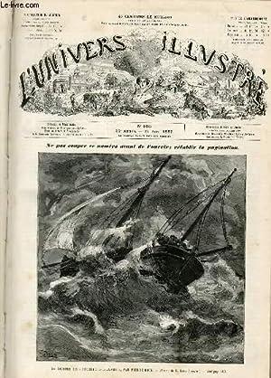"""L'UNIVERS ILLUSTRE - TRENTIEME ANNEE N° 1683 Un épisode de """"pêcheur d'Islande"""", par..."""