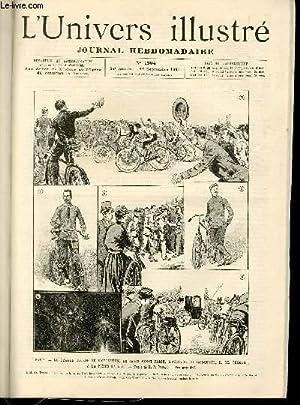 L'UNIVERS ILLUSTRE- TRENTE QUATRIEME ANNEE N° 1904 Paris: COLLECTIF