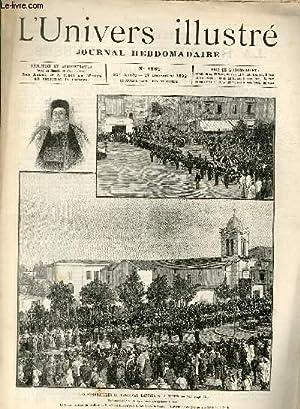 L'UNIVERS ILLUSTRE- TRENTE CINQUIEME ANNEE N° 1969 Les funérailles du Cardinal Lavigerie, à ...