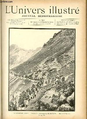 L'UNIVERS ILLUSTRE - TRENTE NEUVIEME ANNEE N° 2165 Les manoeuvres Alpines: COLLECTIF