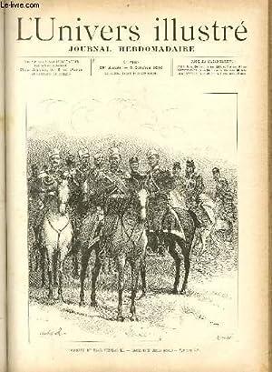 L'UNIVERS ILLUSTRE - TRENTE NEUVIEME ANNEE N° 2167 L'escorte du Tsar Nicolas II: COLLECTIF