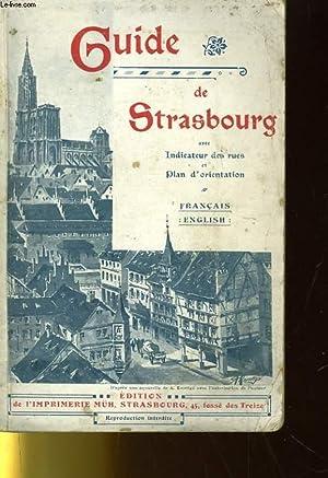 GUIDE DE STRASBOURG - FRANCAIS / ANGLAIS: COLLECTIF