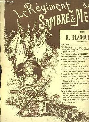 LE REGIMENT DE SAMBRE ET MEUSE TRANSRIPTION: R.PLANQUETTE