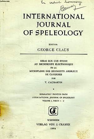 INTERNATIONAL JOURNAL OF SPELEOLOGY, VOL. I, PARTS: CAUMARTIN V.