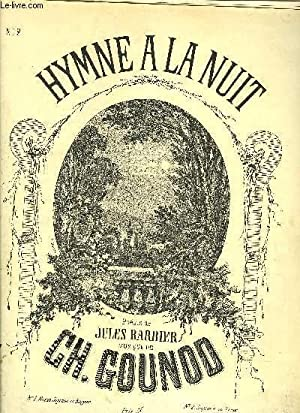 HYMNE A LA NUIT N°2 SOPRANO OU: CH GOUNOD