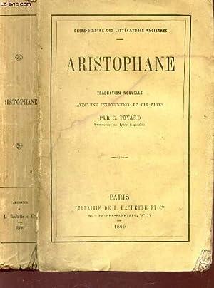 """ARISTOPHANE / COLLECTION """"CHEFS D'OEUVRE DES LITTERATURES: ARISTOPHANE ( PAR"""