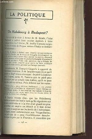 ESSAIS CRITIQUES / UN HABSBOURG A BUDAPEST?: COLLECTIF