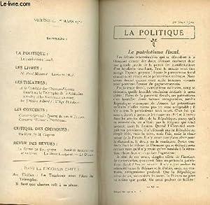 ESSAIS CRITIQUES - N°53 - 1er mars / le patriotisme fiscal / Lewis et Irene (M. P. ...