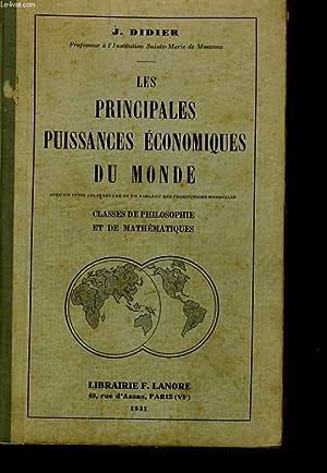 LES PRINCIPALES PUISSANCES ECONOMIQUES DU MONDE - CLASSES DE PHILOSOPHIE ET DE MATHEMATIQUES: J. ...