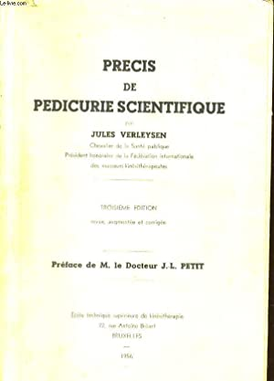 PRECIS DE PEDICURE SCIENTIFIQUE: JULES VERLEYSEN