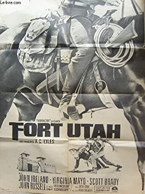 1 AFFICHE DE CINEMA - FORT UTAH