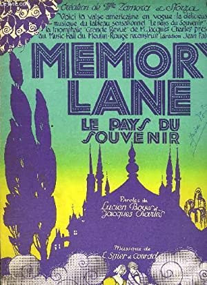 MEMORY LANE (le pays du souvenir): LARRY SPIER & CON CONRAD