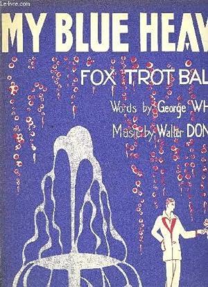 MY BLUE HEAVEN piano et chant en anglais: WALTER DONALDSON
