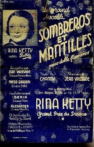 SOMBREROS ET MANTILLES paso-doblé flamenco chanté: JEAN VAISSADE