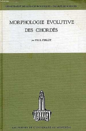 MORPHOLOGIE EVOLUTIVE DES CHORDES: PIRLOT PAUL