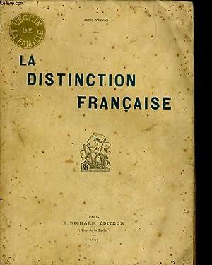 LA DISTINCTION FRANCAISE: ALINE VERNON