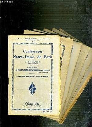 CONFERENCES DE NOTRE-DAME DE PARIS - CAREME 1927 - LE CHRISTIANISME, METAPHYSIQUE DE LA CHARITE - ...