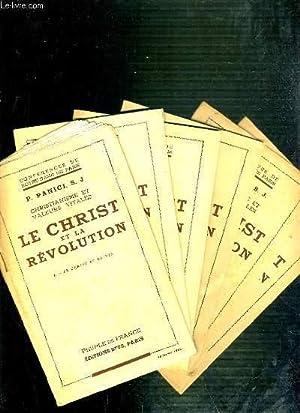 CONFERENCES DE NOTRE-DAME DE PARIS - CHRISTIANISME ET VALEURS VITALES - LE CHRIST ET LA REVOLUTION ...
