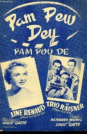 PAM=PEW-DEY (pam-pou-dé) PARTITION POUT LE CHANT: LOUIS GASTE