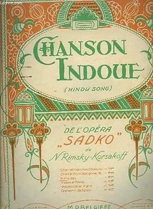 "CHANSON INDOUE (hindou-song) de l'opéra ""Sadko"": N.RIMSKY-KORSAKOFF"