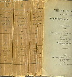 VIE ET OEUVRES DE LA BIENHEUREUSE MARGUERITE-MARIE ALACOQUE - 3 TOMES - 1 + 2 + 3 / TOME 1. ...