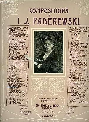 MENUET: I. J. PADEREWSKI