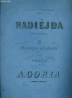 NADIEJDA 3ème mazurka origianle: A. CORIA