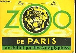 ZOO DE PARIS EN RELIEF PAR LES ANAGLYPHES: COLLECTIF