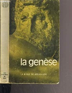 LA GENESE: DE VAUX R.