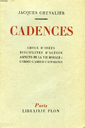 CADENCES: CHEVALIER JACQUES