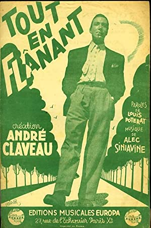 TOUT EN FLANANT: ALEC SINIAVINE