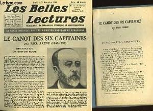LES CANOT DES SIX CAPITAINES - LES BELLES LECTURES - 4° ANNEE - N°147: ARENE PAUL