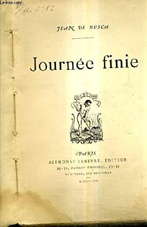 JOURNEE FINIE.: DE BUSCA JEAN