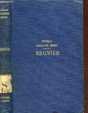 OEUVRES COMPLETES DE REGNIER - revues sur les edition orignales avec preface, notes et glossaire ...