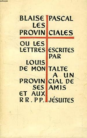 LES PROVINCIALES, TOME I: PASCAL Blaise, Par Z. TOURNEUR