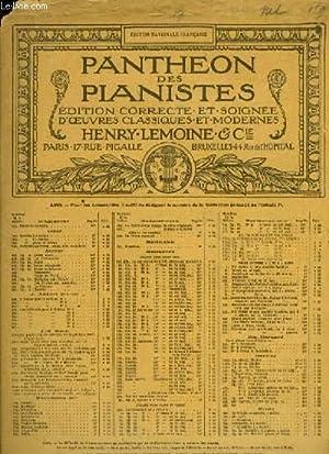SCHERZO BRILLANT pour piano PANTHEON DES PIANISTES: H.A Wollenhaupt