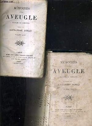 MEMOIRES D'UN AVEUGLE - MADAME DU DEFAND - EN 2 TOMES - TOMES 1 + 2 .: DUMAS ALEXANDRE