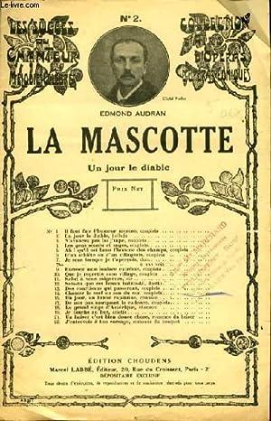 """N°2 1er COUPLET extrait de """"La Mascotte"""": EDMOND AUDRAN"""