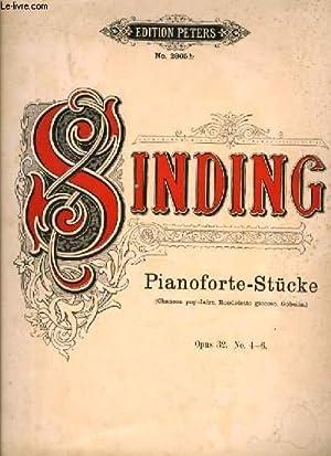 PIANOFORTE-STUCKE: SINDING