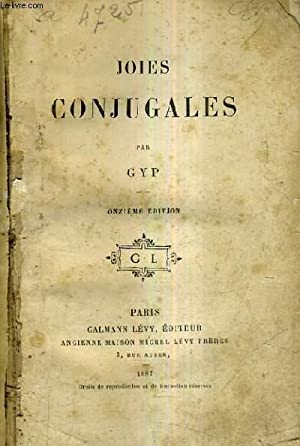 JOIES CONJUGALES / 11E EDITION.: GYP