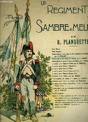 LE REGIMENT DE SAMBRE ET MEUSE -: PLANQUETTE R. /