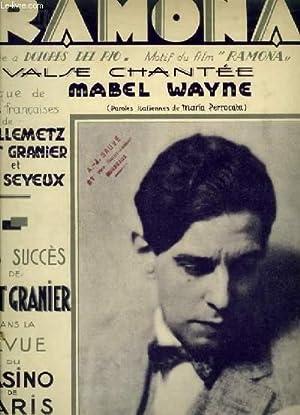 RAMON - WALTZ SONG POUR PIANO ET CHANT AVEC PAROLES FRANCAISES ET ITALIENNES.: WAYNE MABEL