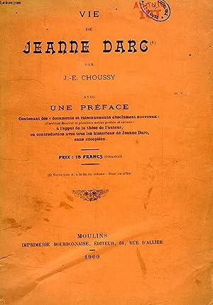 VIE DE JEANNE D'ARC: CHOUSSY J.-E.
