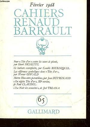 CAHIERS PAUL CLAUDEL - N°65: COLLECTIF