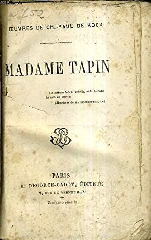 MADAME TAPIN.: CH. PAUL DE