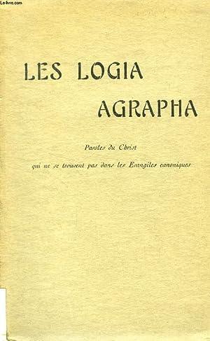 LES LOGIA AGRAPHA, PAROLES DU CHRIST QUI: BESSON EMILE